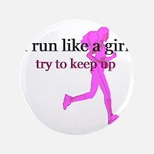 """runlikegirl 3.5"""" Button"""