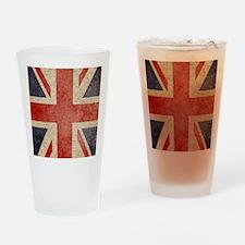 iPad Faded UK Drinking Glass