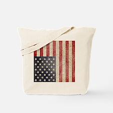 iPad Faded USA Tote Bag