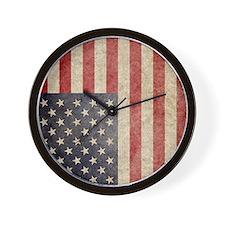 iPad Faded USA Wall Clock
