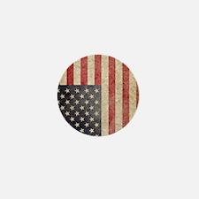 iPad Faded USA Mini Button