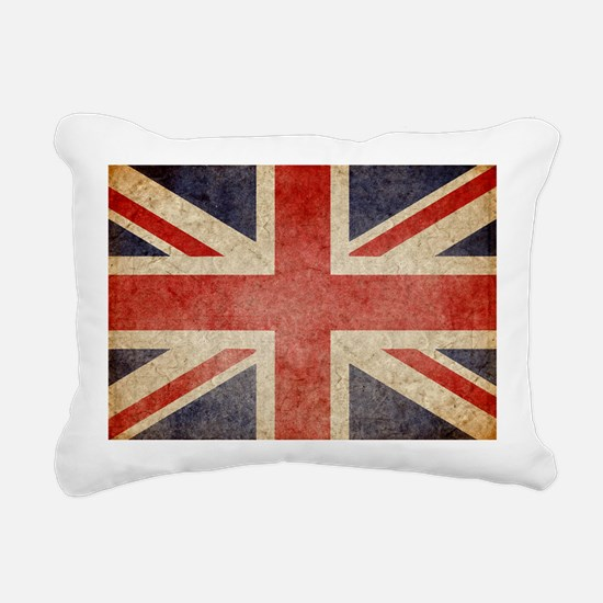 Faded UK Rectangular Canvas Pillow