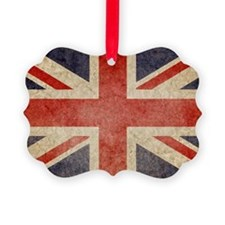 Faded UK Ornament