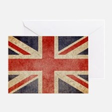 Faded UK Greeting Card