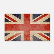 Faded UK Rectangle Car Magnet