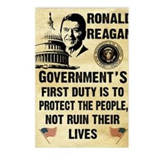 Governments First Duty Sm Postcards (Package of 8)