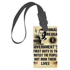 Governments First Duty Small Pos Luggage Tag