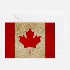 Faded Canada Greeting Card