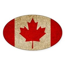 Faded Canada Decal