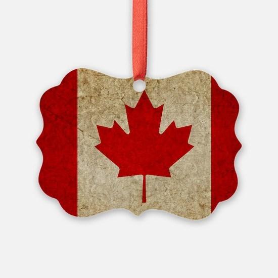 Faded Canada Ornament