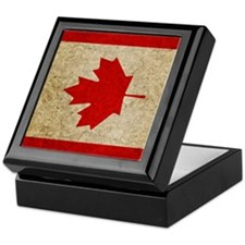 iPad Faded Canada Keepsake Box