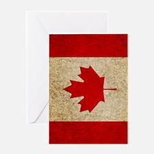 iPad Faded Canada Greeting Card