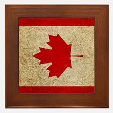 iPad Faded Canada Framed Tile