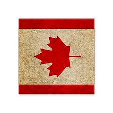 """iPad Faded Canada Square Sticker 3"""" x 3"""""""
