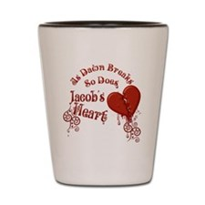 Jacobs Heart Shot Glass