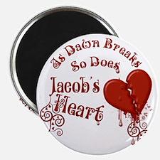 Jacobs Heart Magnet