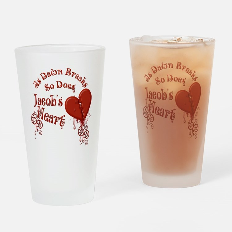 Jacobs Heart Drinking Glass