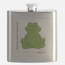 frog_organic_baby Flask