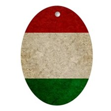 441 Faded Italy Oval Ornament