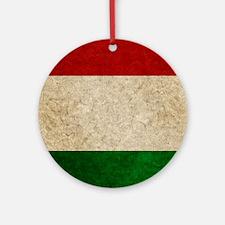 iPad Faded Italy Round Ornament