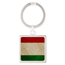 iPad Faded Italy Square Keychain