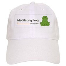 frog_organic1 Baseball Cap