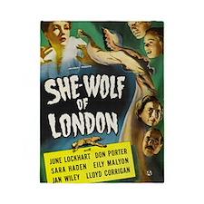 shewolflondon300dpi BIG Twin Duvet