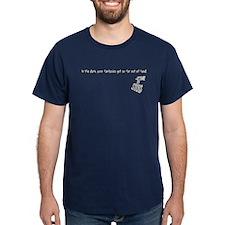 Carnival of Souls Blue T-Shirt