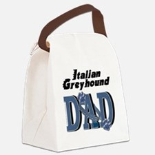 ItalianGreyhoundDAD Canvas Lunch Bag