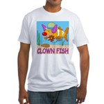 Clown Fish Fitted T-Shirt