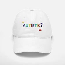 dontseemautistic-whitetext Baseball Baseball Cap