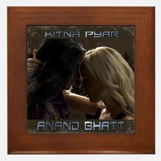 Anand Bhatt Kitna Pyar Framed Tile