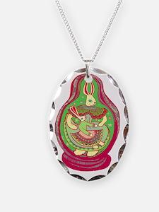 Matriushka Bunny, bright Necklace