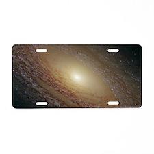 majestikDisk2 Aluminum License Plate