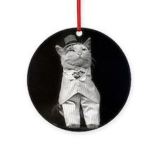 The Dapper Cat, 1906 Ornament (Round)
