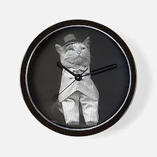 The Dapper Cat, 1906 Wall Clock