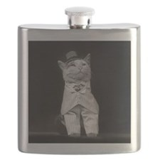 The Dapper Cat, 1906 Flask
