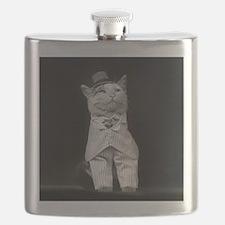 The Dapper Cat, 1906 Flask