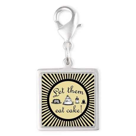 let-them-eat-cake_bl_b Silver Square Charm