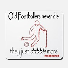 Old Footballers Dribble 1500 Mousepad