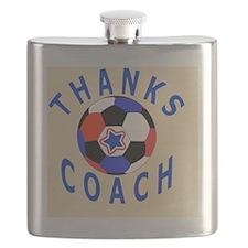 Thank You Coach Keepsake Gifts Flask