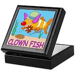 Clown Fish Keepsake Box