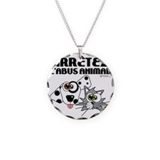 stop-animal-abuse-fr-01 Necklace