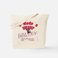 donkeyswamp2 Tote Bag