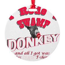 donkeyswamp2 Ornament