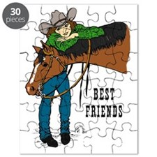 Western Best Friends Puzzle