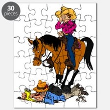 Oops, Rider! Puzzle