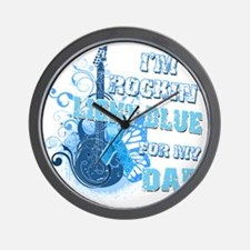 Im Rockin Light Blue for my Dad Wall Clock