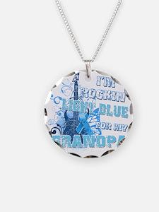 Im Rockin Light Blue for my  Necklace