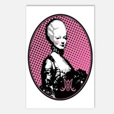 marie-antoinette-pop-art_ Postcards (Package of 8)